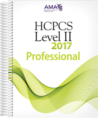 HCPCS 2017 Level II Book Cover