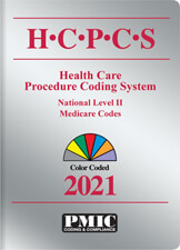 HCPCS 2021 Coder's Choice® Book Cover
