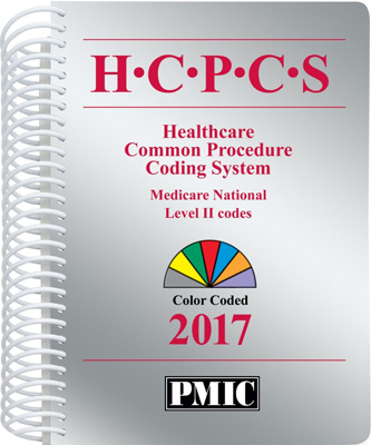 HCPCS 2017 Coder's Choice® Spiral Book Cover