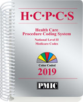 HCPCS 2019 Coder's Choice® Spiral Book Cover