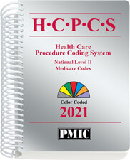 HCPCS 2021 Coder's Choice® Spiral Book Cover